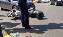 Accident motor intersectie Brancoveanu – McDonalds Bucuresti