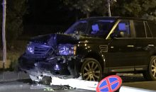 Accident Cal. Floreasca Range Rover