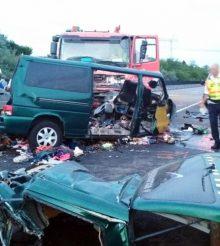 Accident filmat live facebook Ungaria, 9 morti – VIDEO