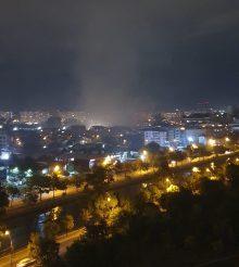 Incendiu de proportii in Bucuresti – zona Vitan